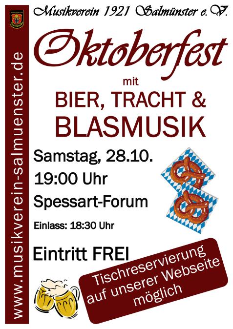 Plakat Oktoberfest Online 17